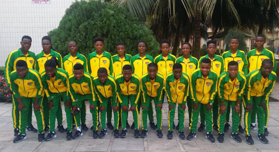 To Abidjan with the Togo Ladies team!
